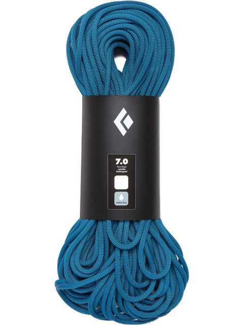 Black Diamond 7.0 Dry Rope 60m Aqua Blue